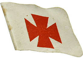 WW1 flag day for Red Cross