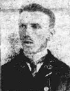 Newspaper photo of Charles Chambers WW1