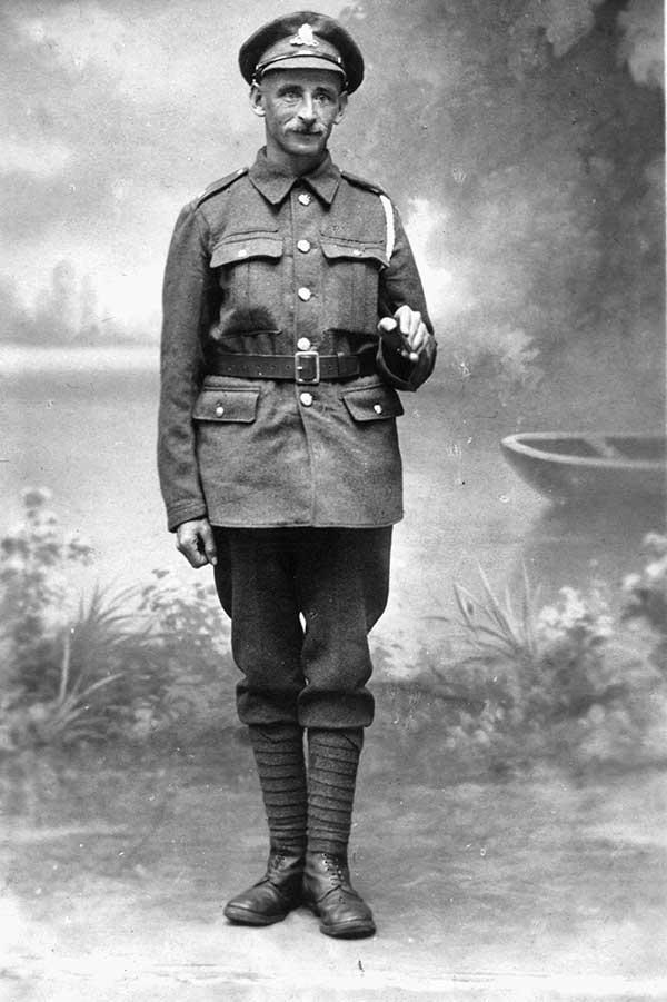 William Curzon Soldier In Ww1