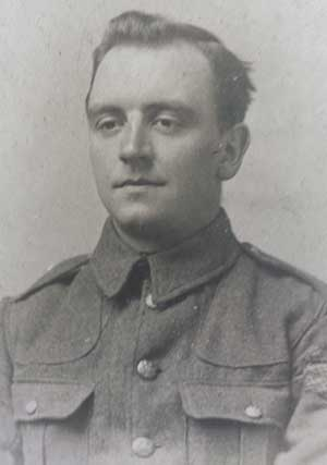 William Thomas Curzon in WW1