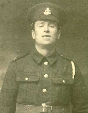 William Henry Gaunt in WW1