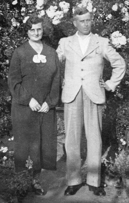 Charles Herbert Knowles and his wife
