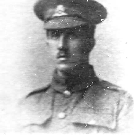James Leafe soldier in WW1