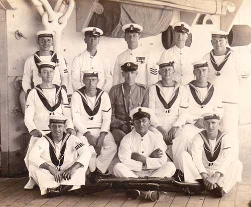 Harry Rodgers Prince on HMS Despatch