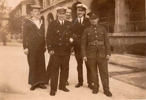 Harry Rodgers Prince with others