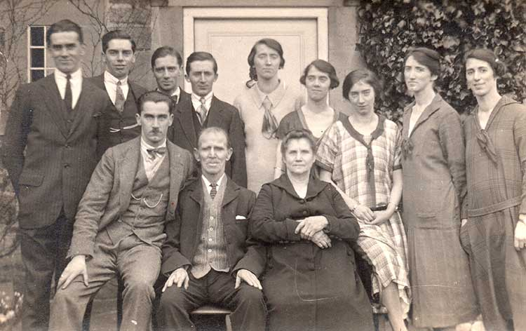 Tadford family of Fritchley in 1923