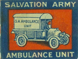 Salvation Army WW1 pin badge
