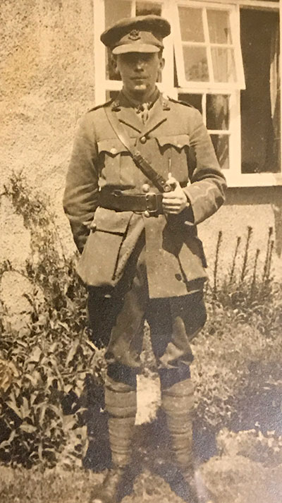 Harry Sargent in WW1