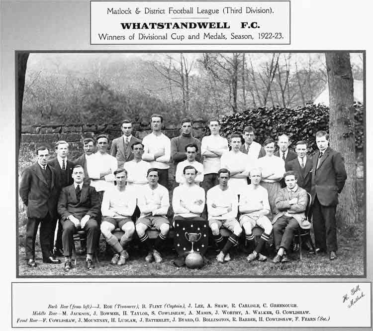 Whatstandwell Football Club 1923