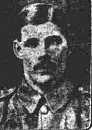 Newspaper photo of John Edward Wragg in WW1